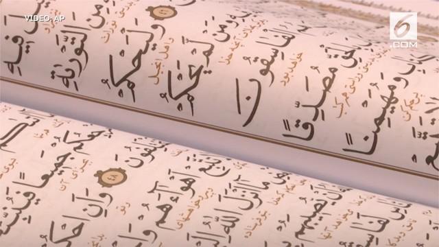 """Pameran ini mengusung tema """"Al Quran, Akhlak dan Kehidupan"""""""