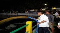 Kementerian PUPR berupaya kurangi aroma tidak sedap di kali sentiong (Foto: Dok Kementerian PUPR)