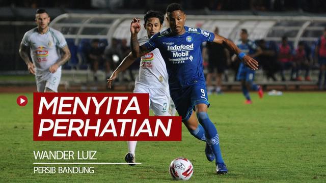 Berita video striker Persib Bandung, Wander Luiz, menyita perhatian penggemar sepak bola nasional dan khususnya Shopee Liga 1 2020.