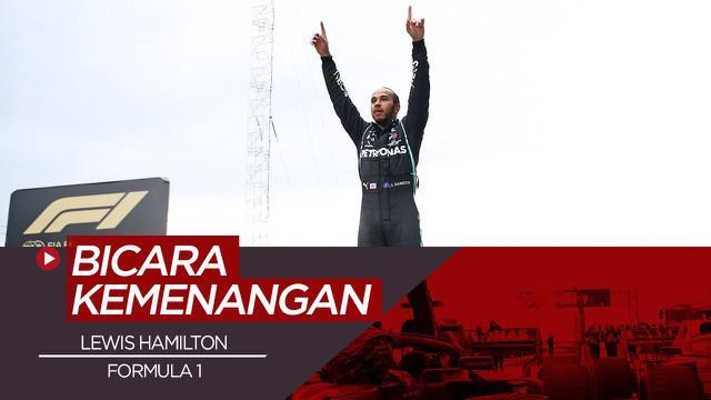 Berita Video Lewis Hamilton berhasil raih juara Formula 1 yang ketujuh
