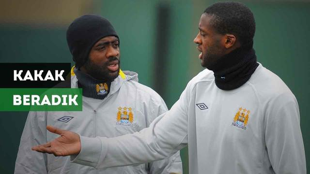 Siapa saja pesepak bola kakak-beradik yang pernah bermain dalam satu klub yang sama?