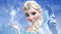 Karakter 'Frozen', Elsa yang mendadak terkenal karena namanya digunakan oleh 1.131 bayi di Amerika Serikat. Foto: THR