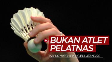 Berita video PBSI memberi pernyataan terkait 8 atlet bulutangkis Indonesia yang tersangkut kasus match fixing, di mana kedelapan atlet tersebut dinyatakan bukan penghuni Pelatnas Cipayung PBSI.
