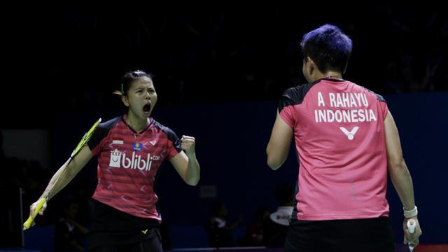 Greysia Polii / Apriyani Rahayu - Piala Sudirman 2019