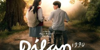 Film Dilan 1990 memang sukes menyedot perhatian dan meninggalkan kesan manis bagi para penonton. Bahkan film yang diadaptasi dari novel karya Pidi Baiq ini sudah tembus 4 juta penonton. (Foto: falcon.co.id)