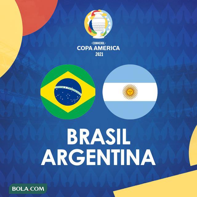 Prediksi Final Copa America 2021 Brasil Vs Argentina ...