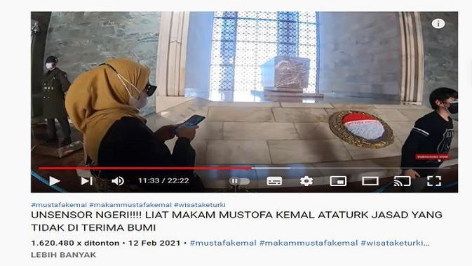 Gambar Tangkapan Layar Video dari Channel YouTube setiahadikunto channel.