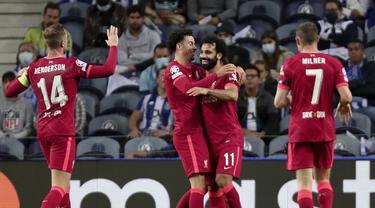 Mohamed Salah - Liverpool - Liga Champions