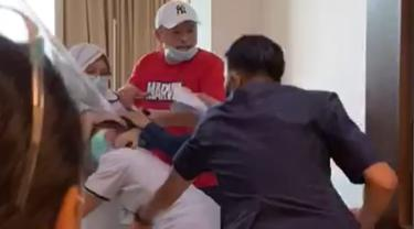 Perawat Disuruh Bersujud, Kapolrestabes Palembang : Pelaku Mendorong dengan Kaki
