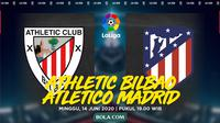 La Liga: Athletic Bilbao vs Atletico Madrid. (Bola.com/Dody Iryawan)