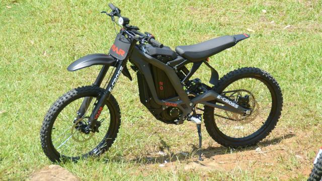 Menjajal Kemampuan Sepeda Motor Listrik Trail Viar E Cross
