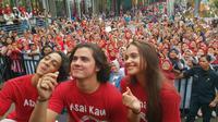 Promo film Asal Kau Bahagia di Karawang