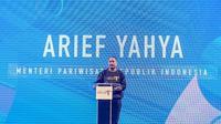 Menteri Pariwisata Arief Yahya meminta GenPI Papua untuk terus menyokong branding pariwisata Indonesia.