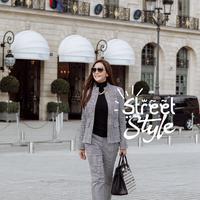 Street style Maia Estianty. (Instagram/maiaestianty)