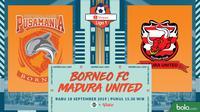 Shopee Liga 1 - Borneo FC Vs Madura United (Bola.com/Adreanus Titus)