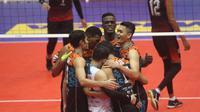 Tim putra Jakarta BNI 46 masih terlalu tangguh untuk Sidoarjo Aneka Gas (istimewa)