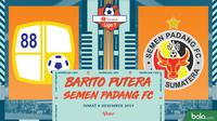 Shopee Liga 1 - Barito Putera Vs Semen Padang FC (Bola.com/Adreanus Titus)