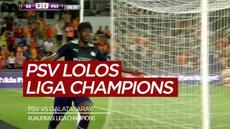 Berita video highlights PSV Vs Galatasaray leg 2 kualifikasi Liga Champions, Kamis (29/7/21)