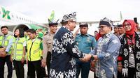 Menteri Pariwisata Arief Yahya ikut on board pada penerbangan perdana Kuala Lumpur - Banyuwangi maskapai Citilink. Rute baru ini akan menambah akses wisman.
