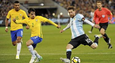 Argentina, Brasil, Laga Persahabatan
