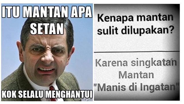 6 Meme Lucu Soal Mantan Ini Bikin Cengar-Cengir - Hot Liputan6.com