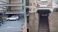 Mobil Parkir Antimainstream (Sumber: Ground Zero)