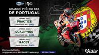 MotoGP Portugal Series di Kanal FOX Sports. (Sumber : dok. vidio.com)