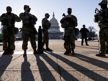 Suasana Gedung Capitol Usai Muncul Lagi Ancaman Penyerangan