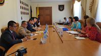 Duta Besar RI untuk Ukraina, Yuddy Chrisnandi menyambangi Provinsi Odesa. (Istimewa)