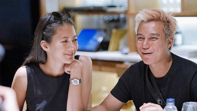 Paula Verhoeven dan Baim Wong