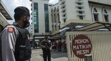 Jelang Perayaan Paskah, Penjagaan Gereja di Surabaya Diperketat