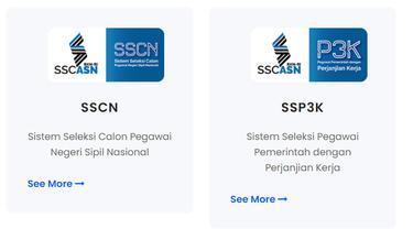 Portal sscasn.go.id untuk seleksi CASN atau CPNS dan PPPK 2021.