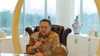 Bamsoet dalam Webinar Hari Ritel Nasional, secara virtual di Jakarta.