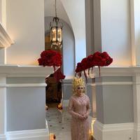 Busana pengantin desainer Asky Febrianti
