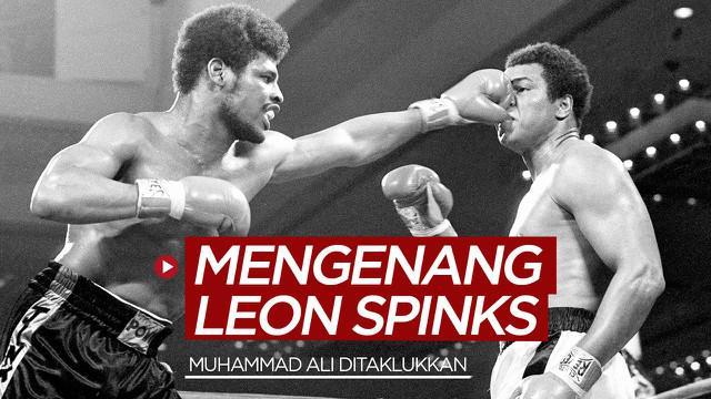 Berita video mengenang Leon Spinks, seorang legenda tinju dunia yang pernah mengejutkan dengan menaklukkan Muhammad Ali.