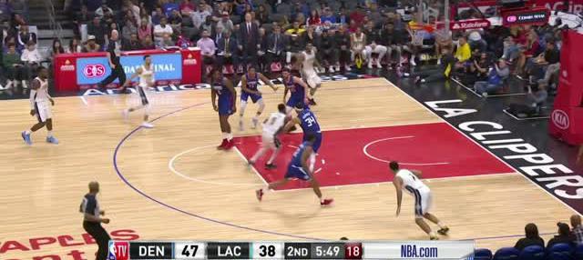Berita video game recap NBA 2017-2018 antara Denver Nuggets melawan LA Clippers dengan skor 134-115.