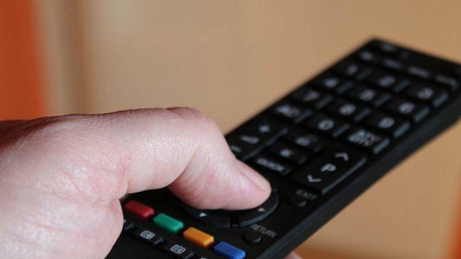 Ilustrasi remote televisi