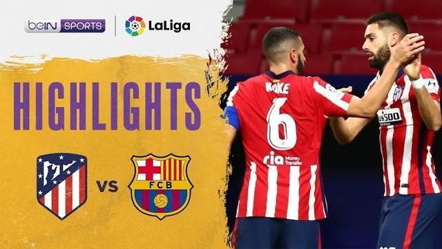 Berita video, Barcelona kalah atas Atletico Madrid di Liga Spanyol pekan ke-10