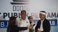 Pasangan calon gubernur dan wakil gubernur Deddy Mizwar-Dedi Mulyadi. (Liputan6.com/Huyogo Simbolon)