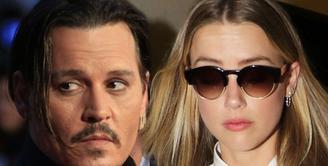 Johnny Depp dan Amber Heard sudah berencana untuk cerai sejak beberapa waktu lalu. Tersiar kabar bahwa saat ini proses perceraian mereka sudah berada di tahap akhir. (doc.mirror.co.uk)