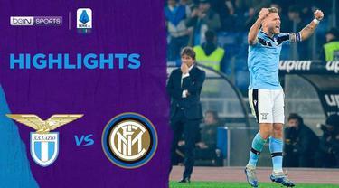 Berita Video Highlights Serie A, Lazio Dekati Juventus Usai Kalahkan Inter Milan 2-1