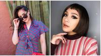 Pesona Nagita Slavina saat berambut pendek, bikin pangling dan banjir pujian. (Sumber: Instagram/@marlenehariman)