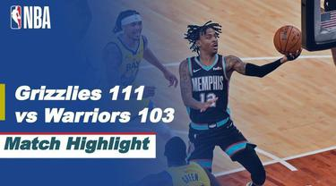 Berita video highlights NBA pertandingan Memphis Grizzlies melawan Golden State Warriors.