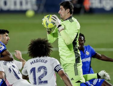 FOTO: Ditahan Imbang Getafe, Real Madrid Terancam Disalip Barcelona di Klasemen Liga Spanyol