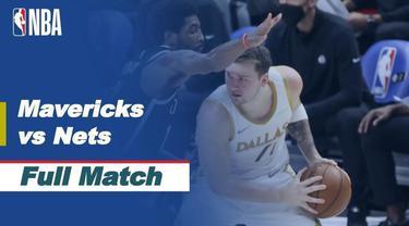 Berita video highlight NBA, Dallas Mavericks Berhasil Bungkam Tamunya Brooklyn Nets 113-109, Jumat (7/5/2021).