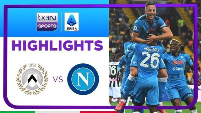 Berita video highlights laga pekan keempat Liga Italia (Serie A) 2021/2022, Napoli membantai Udinese dengan skor 4-0 pada Selasa (21/9/2021) dinihari WIB.