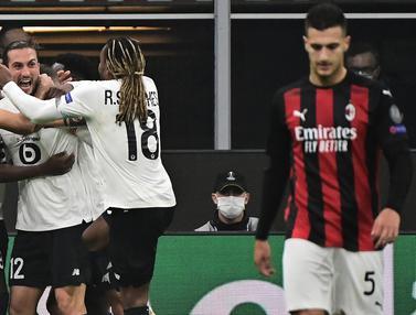 Dibantai Lille, AC Milan Telan Kekalahan di Kandang Sendiri