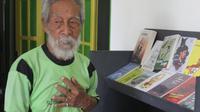 Soesilo Toer (82), adik kandung Pramoedya Ananta Toer (Ahmad Adirin/Liputan6,com)
