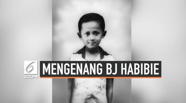 Kejeniusan BJ Habibie sudah mulai tampak sejak ia kecil. Saat usianya 4 tahun, ia sudah lancar membaca buku dengan berbagai macam tema.