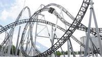 Ilustrasi roller coaster (AFP)